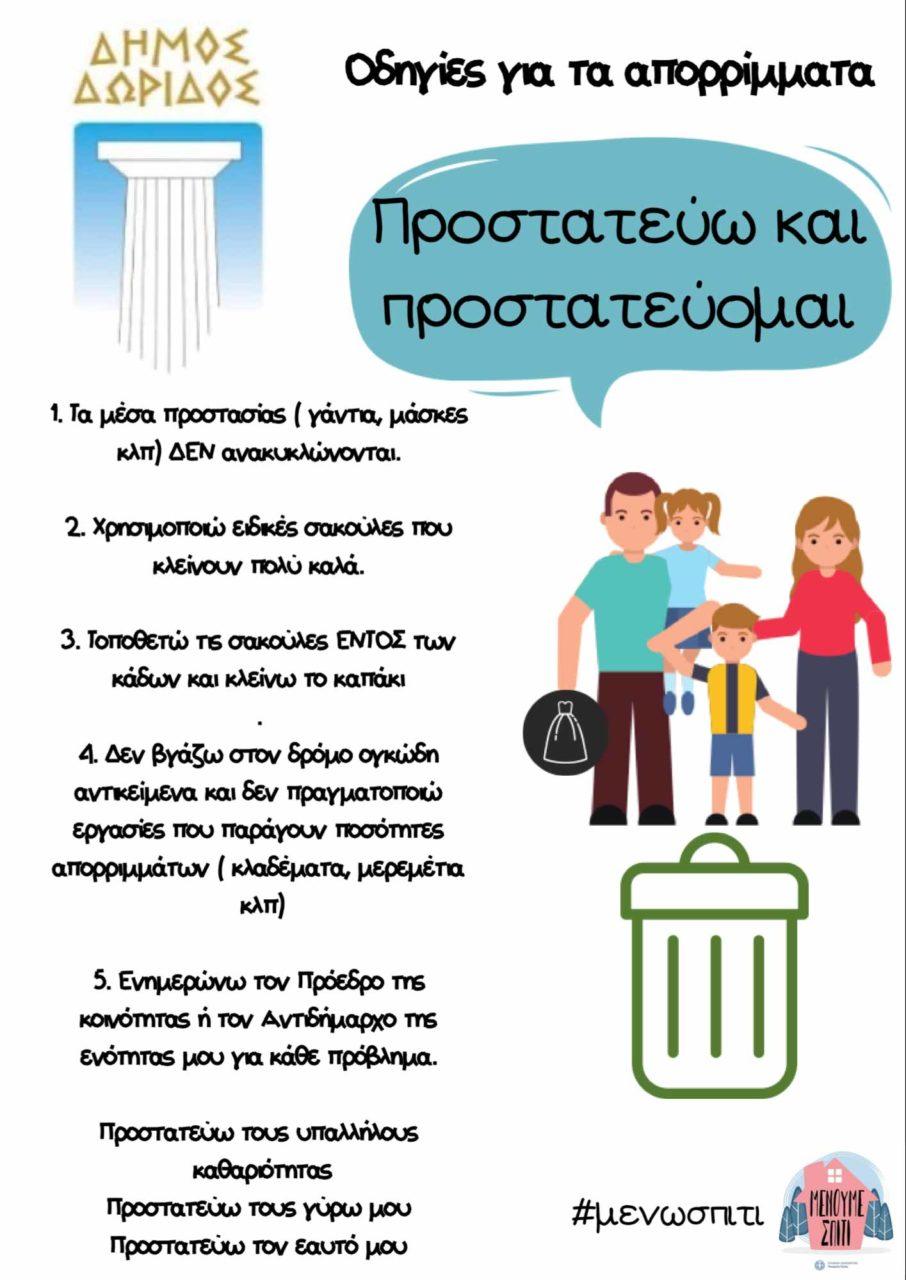 ΑΠΟΡΡΙΜΜΑΤΑ - Δήμος Δωρίδος