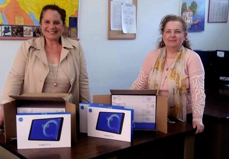 Διανομή tablets στους μαθητές Λυκείων από τον Δήμο Δωρίδος